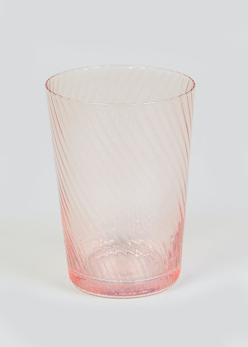 Textured Lustre Tumbler Glass (11cm x 6cm)