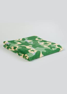 Kids Camo Fleece Throw Blanket (150cm x 130cm)