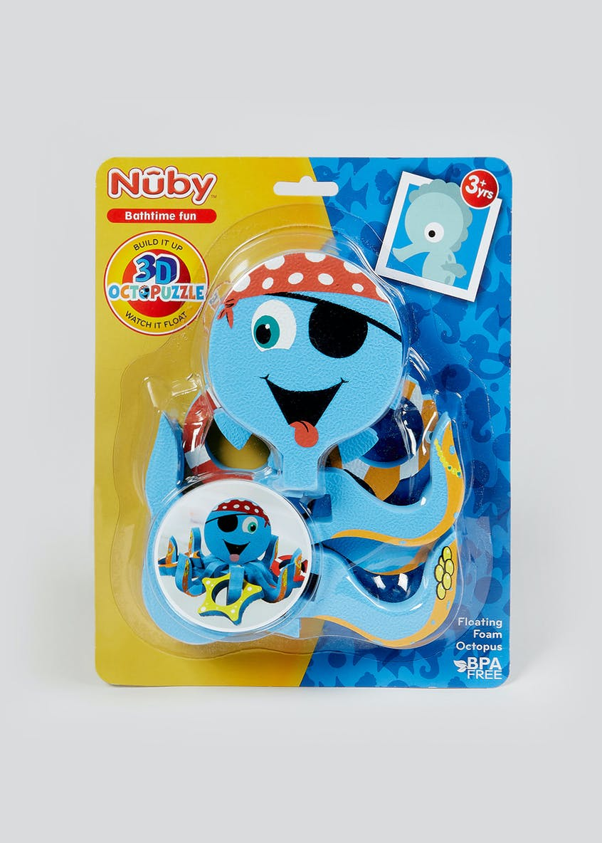 Nuby Bathtime 3D Octopuzzle Game (3yrs+)