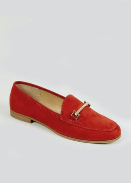 Rust Snaffle Loafers
