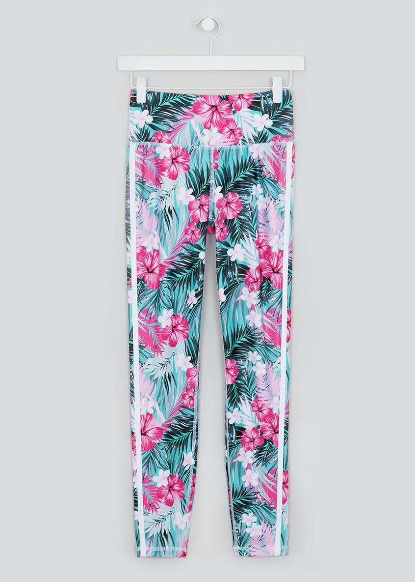 Souluxe Tropical Floral Gym Leggings