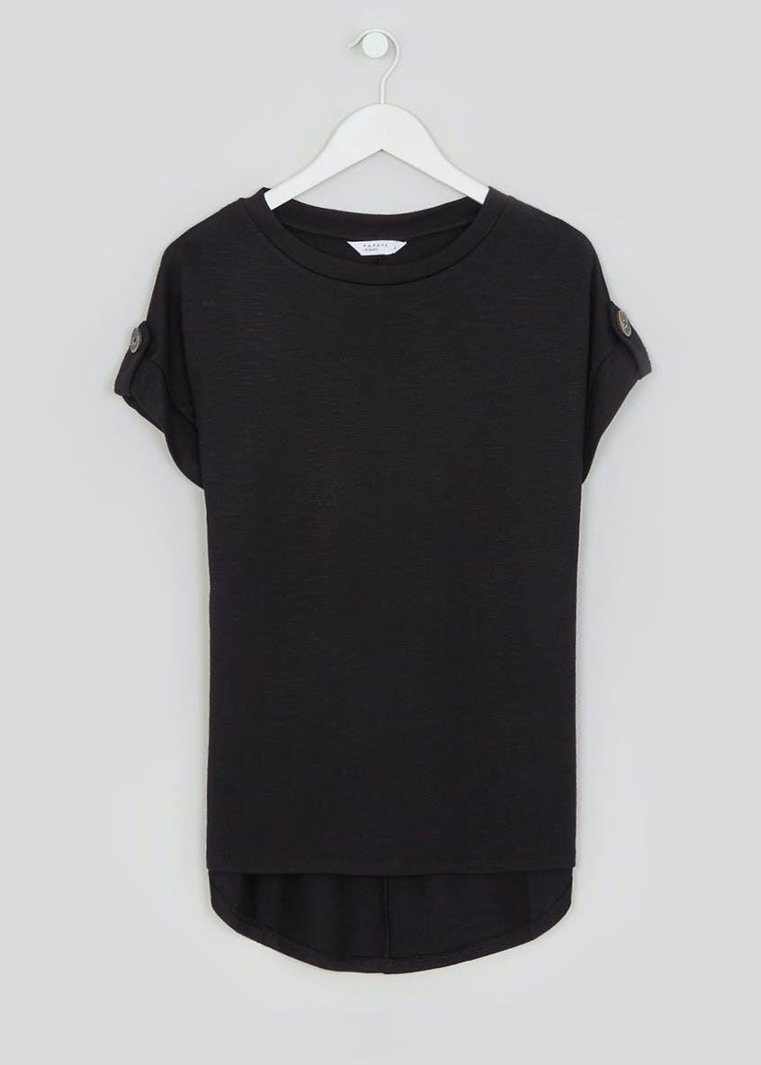 Button Tab T-Shirt