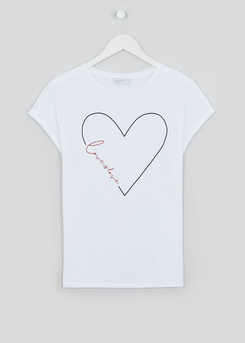 Love Is Love Slogan T-Shirt
