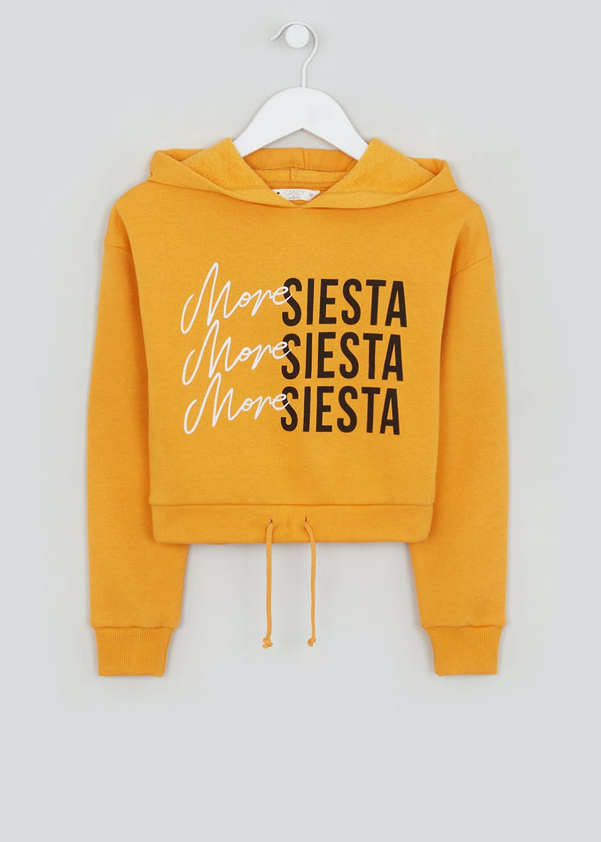 Girls Candy Couture Siesta Slogan Hoodie (9-16yrs)