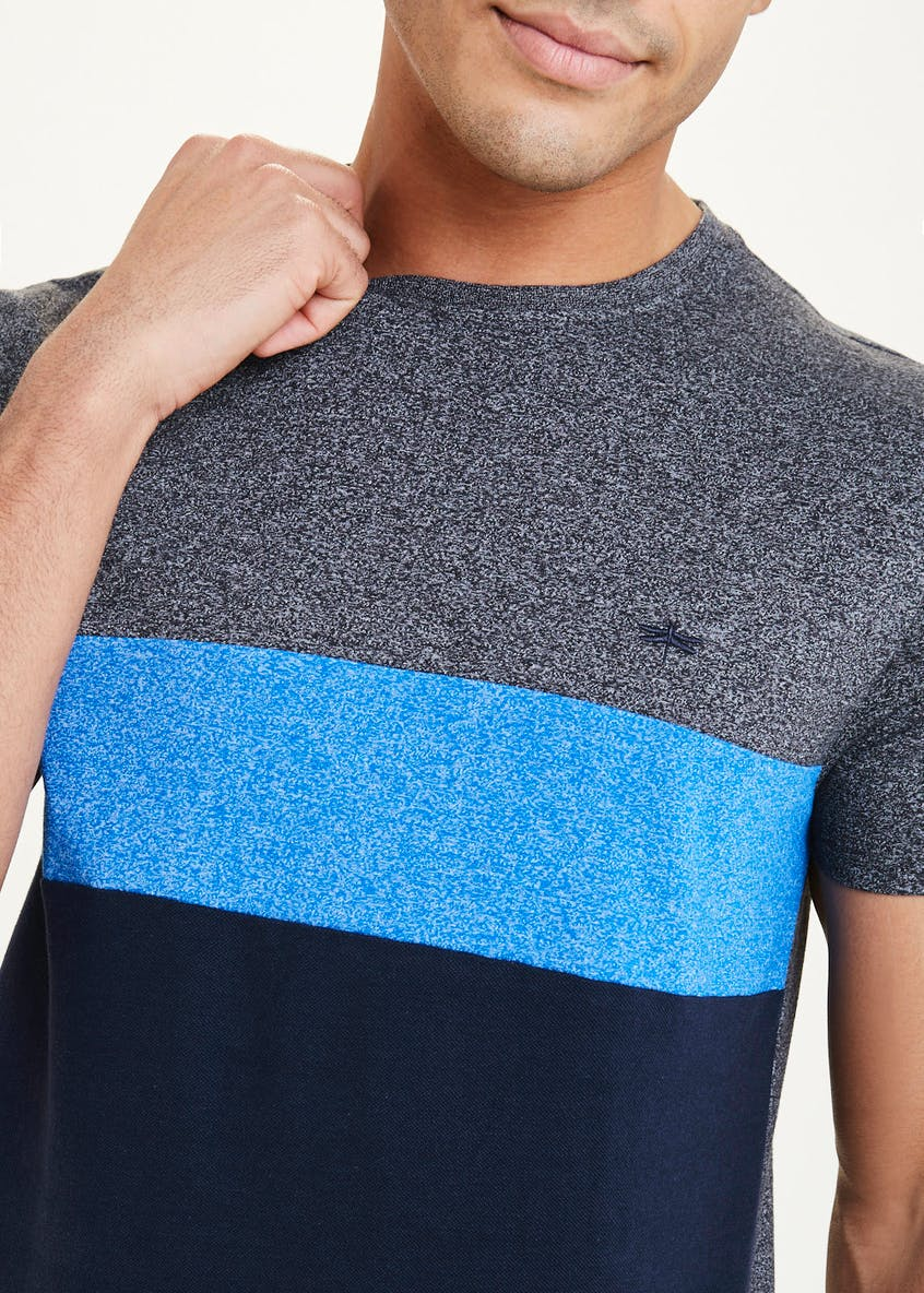 Colour Block Jersey T-Shirt
