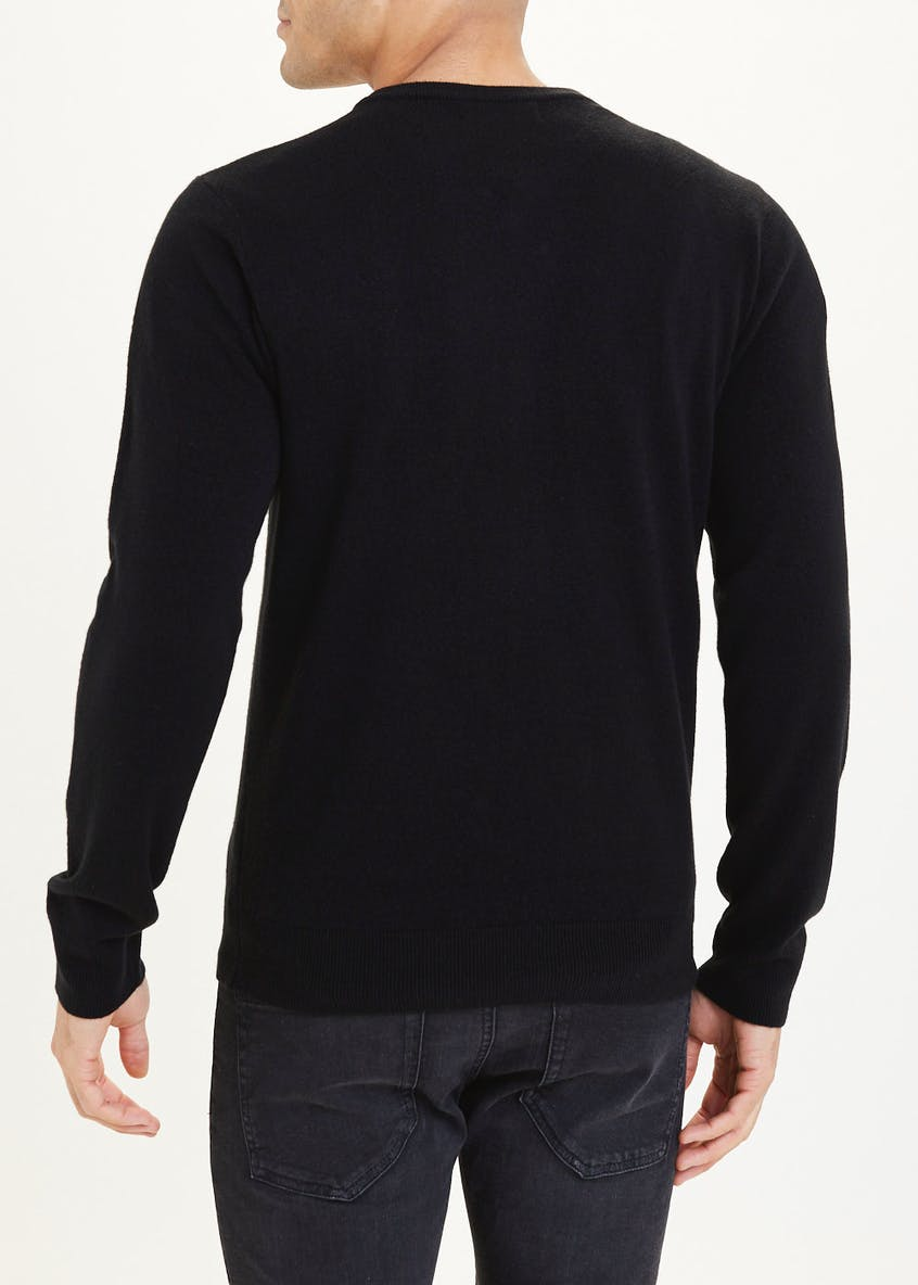 Cashmillon V Neck Jumper