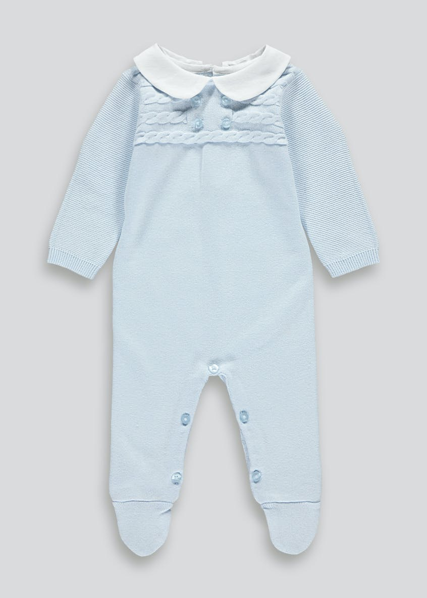 Boys Traditional Romper (Tiny Baby-23mths)