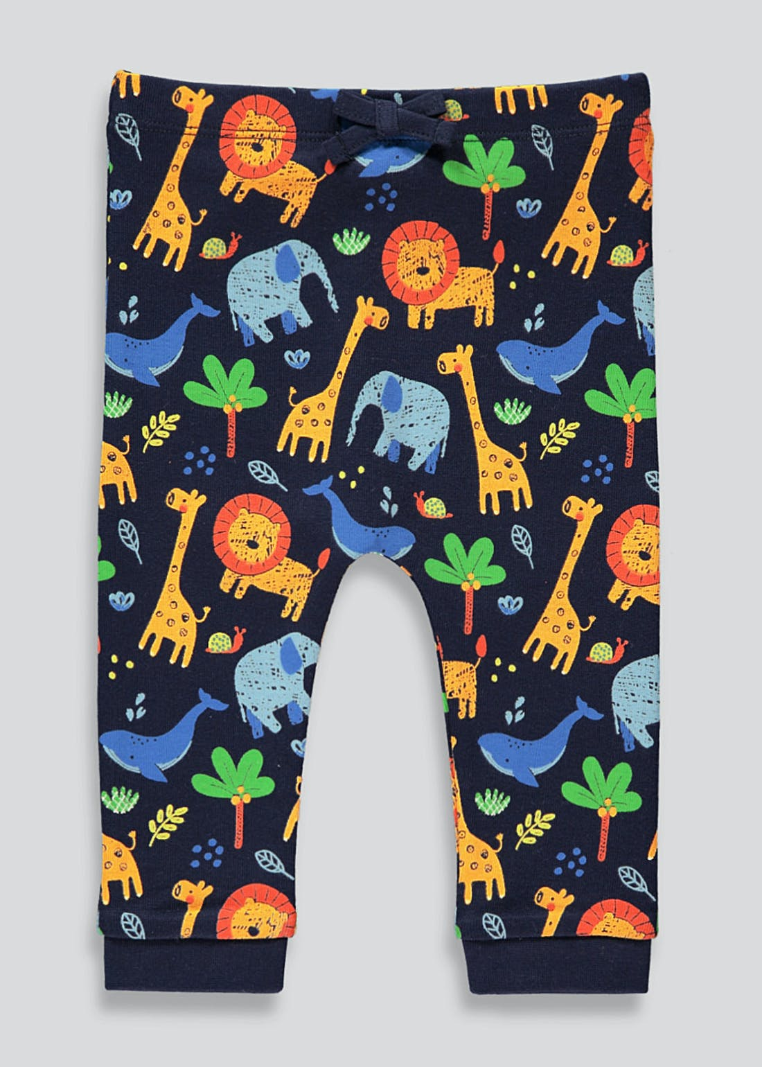 Unisex Jungle Print Leggings (Newborn-23mths)