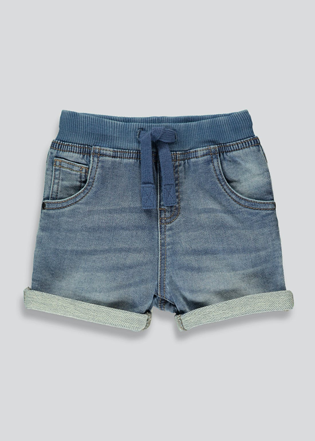 Boys Knitted Denim Shorts (9mths-6yrs)