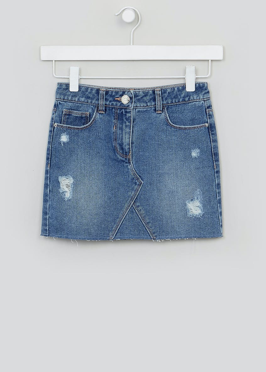 Girls Denim Skirt (4-13yrs)