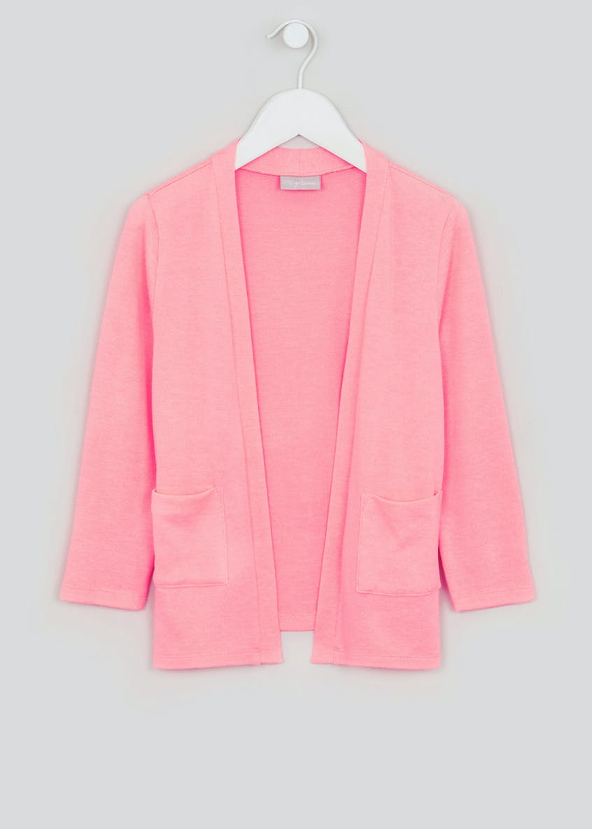 Girls Snit Cardigan (4-13yrs)