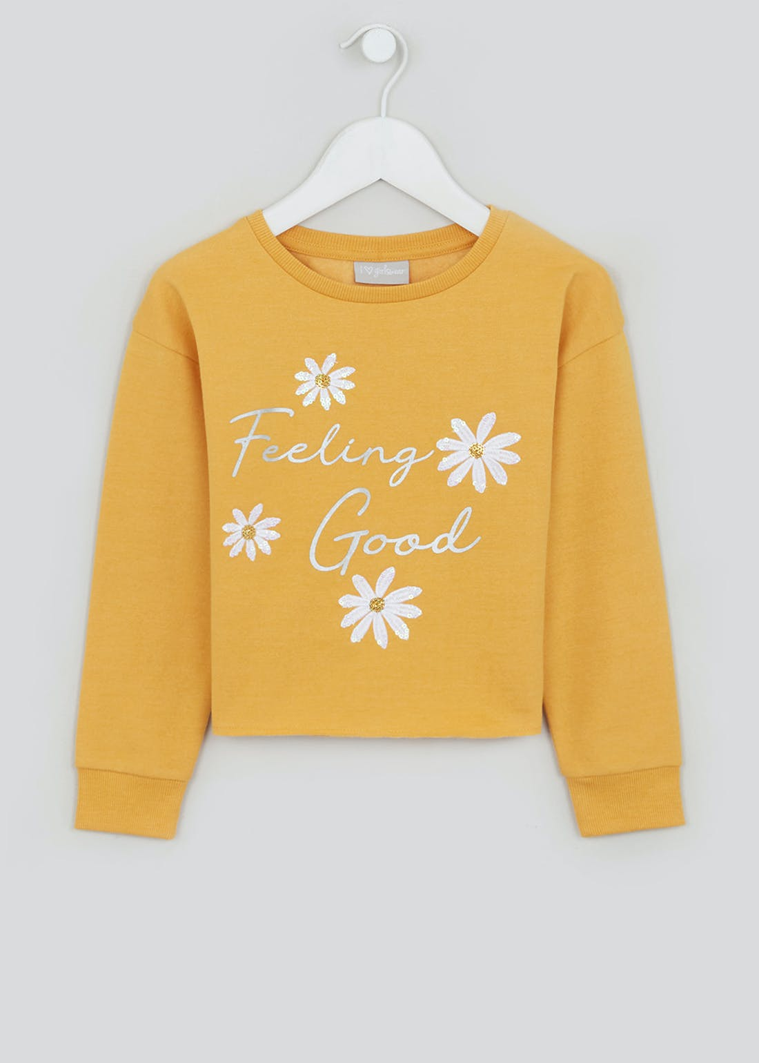 Girls Feeling Good Sweatshirt (4-13yrs)