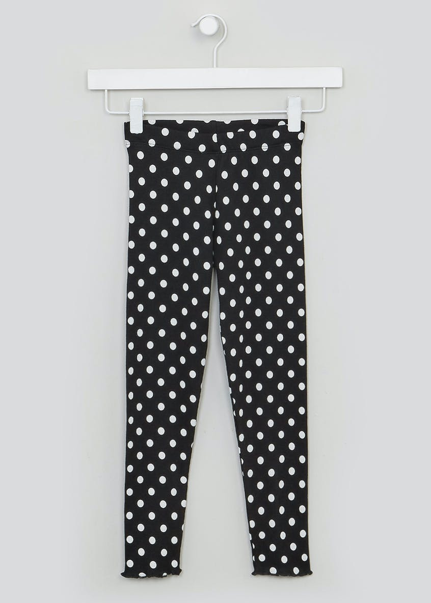 Girls Polka Dot Leggings (4-13yrs)