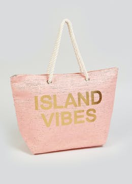 Island Vibes Beach Bag