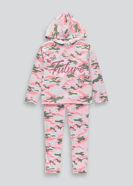 Girls 2 Piece Hoodie & Leggings Set (4-13yrs)