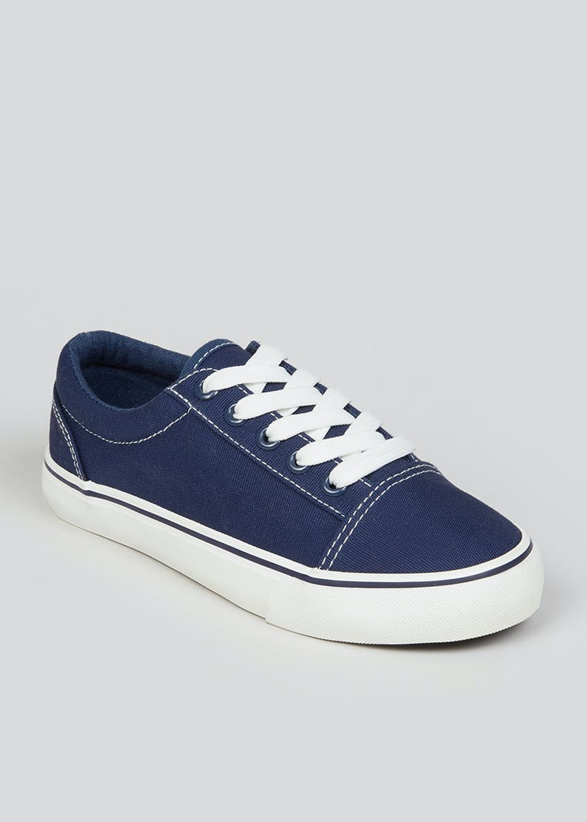 Kids Denim Trainers (Younger 10-Older 6)