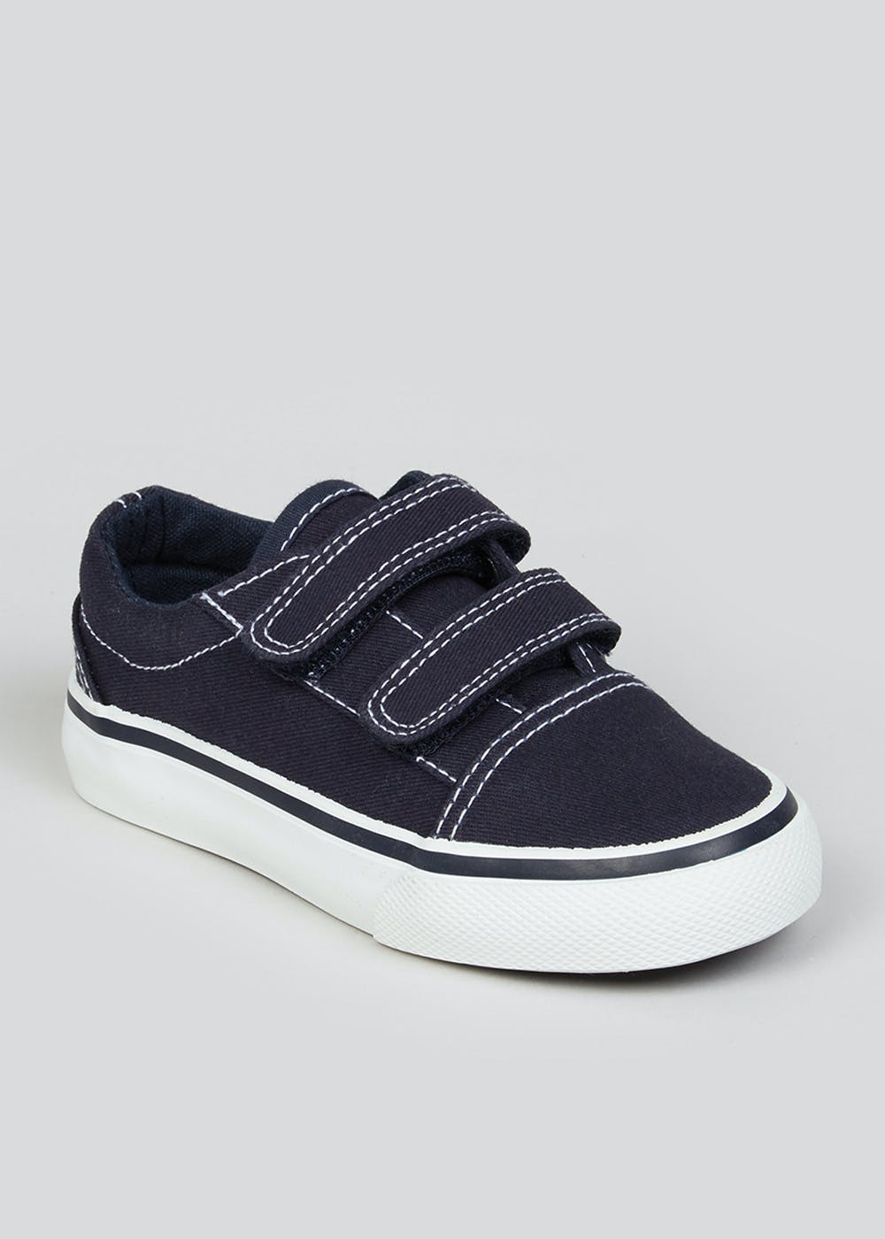 Boys Navy Denim Trainers (Younger 4-12