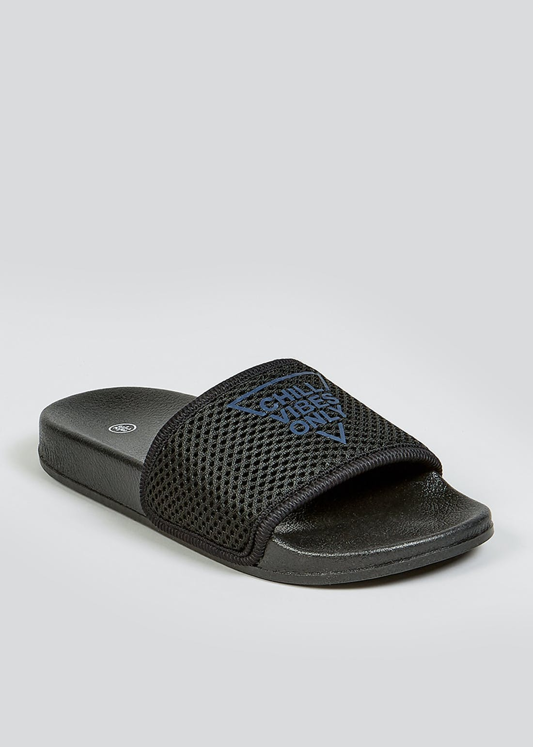 Boys Black Sliders (Younger 10-Older 6)