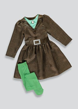 Kids Miss Trunchbull Fancy Dress Costume (3-7yrs)