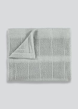 Cellular Baby Moses Blanket (90cm x 70cm)