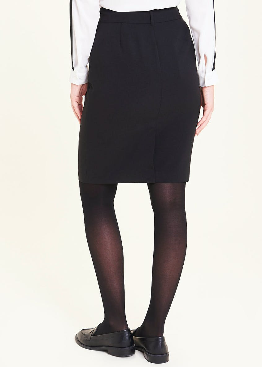 Bi-Stretch Suit Skirt