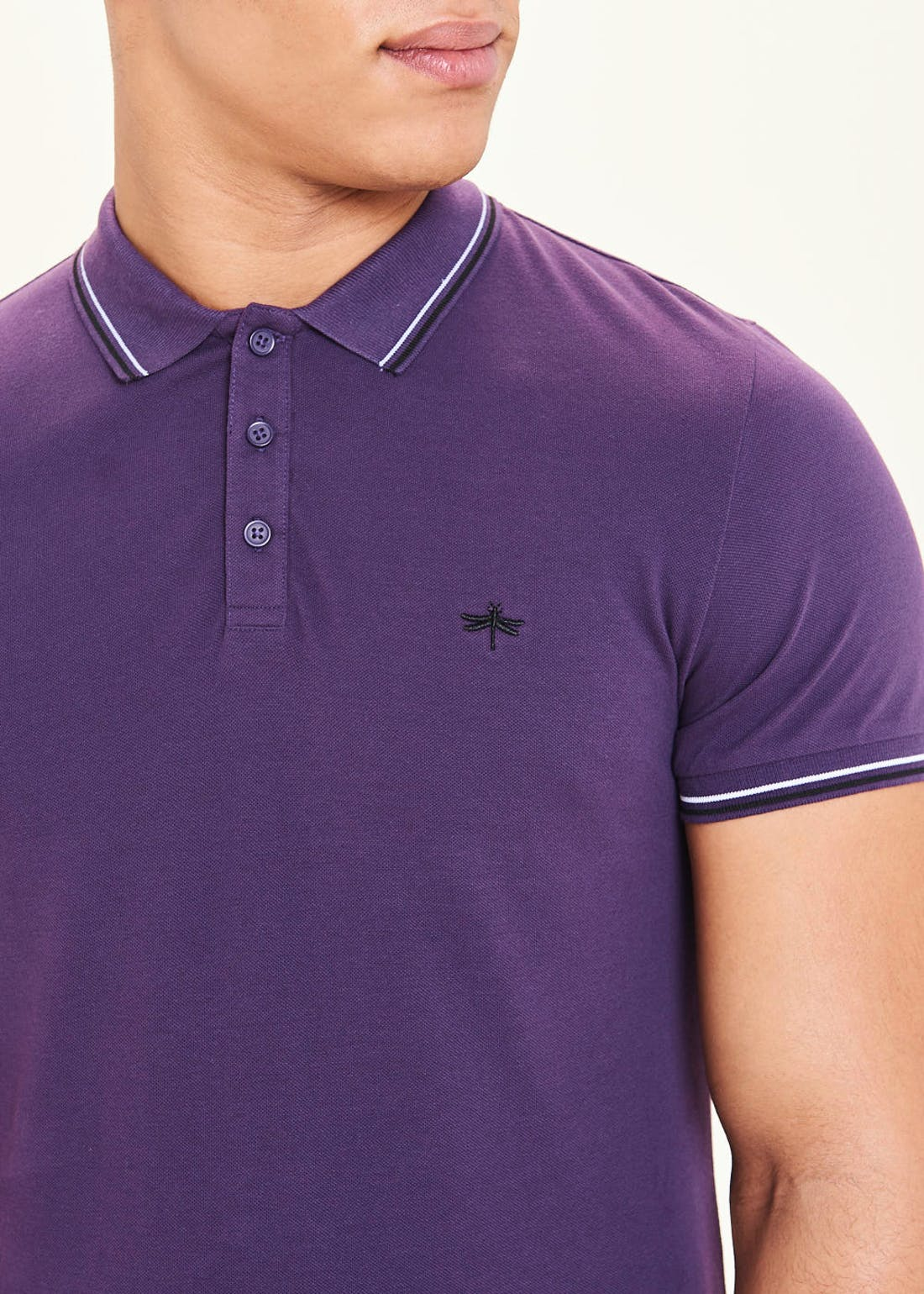 Short Sleeve Tipped Polo Shirt