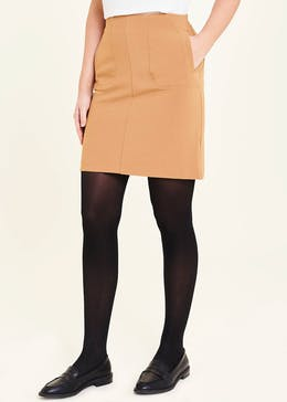 A-Line Pocket Mini Skirt