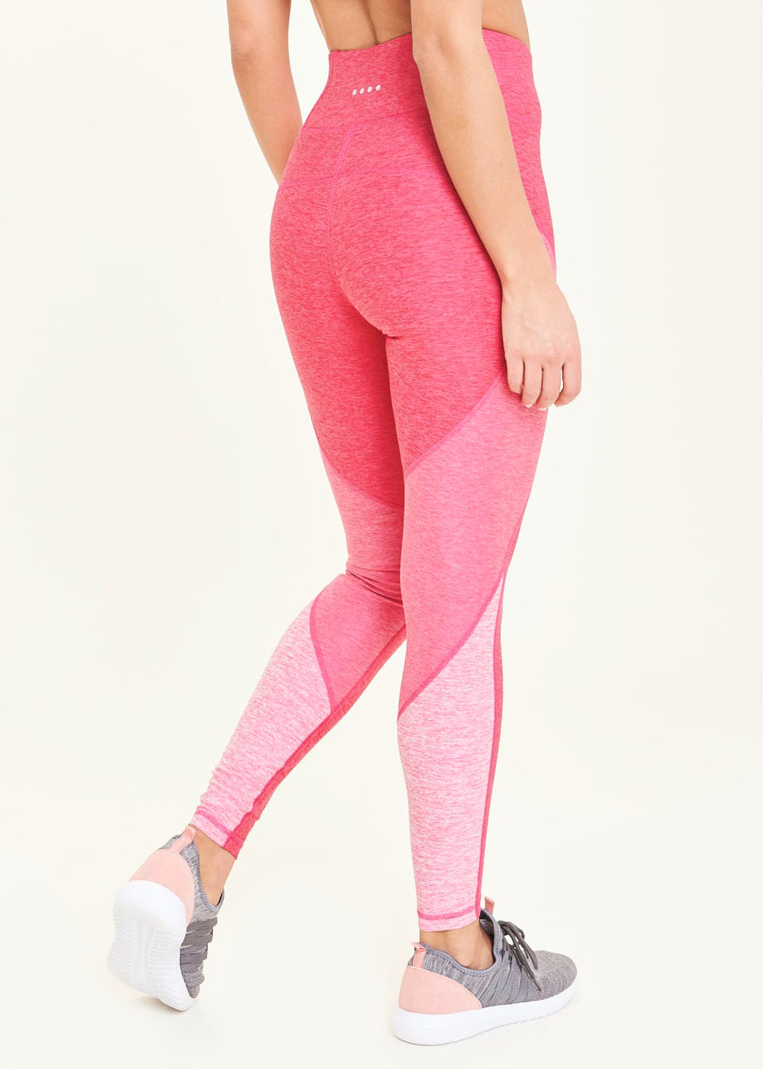 Souluxe Pink Panelled Gym Leggings