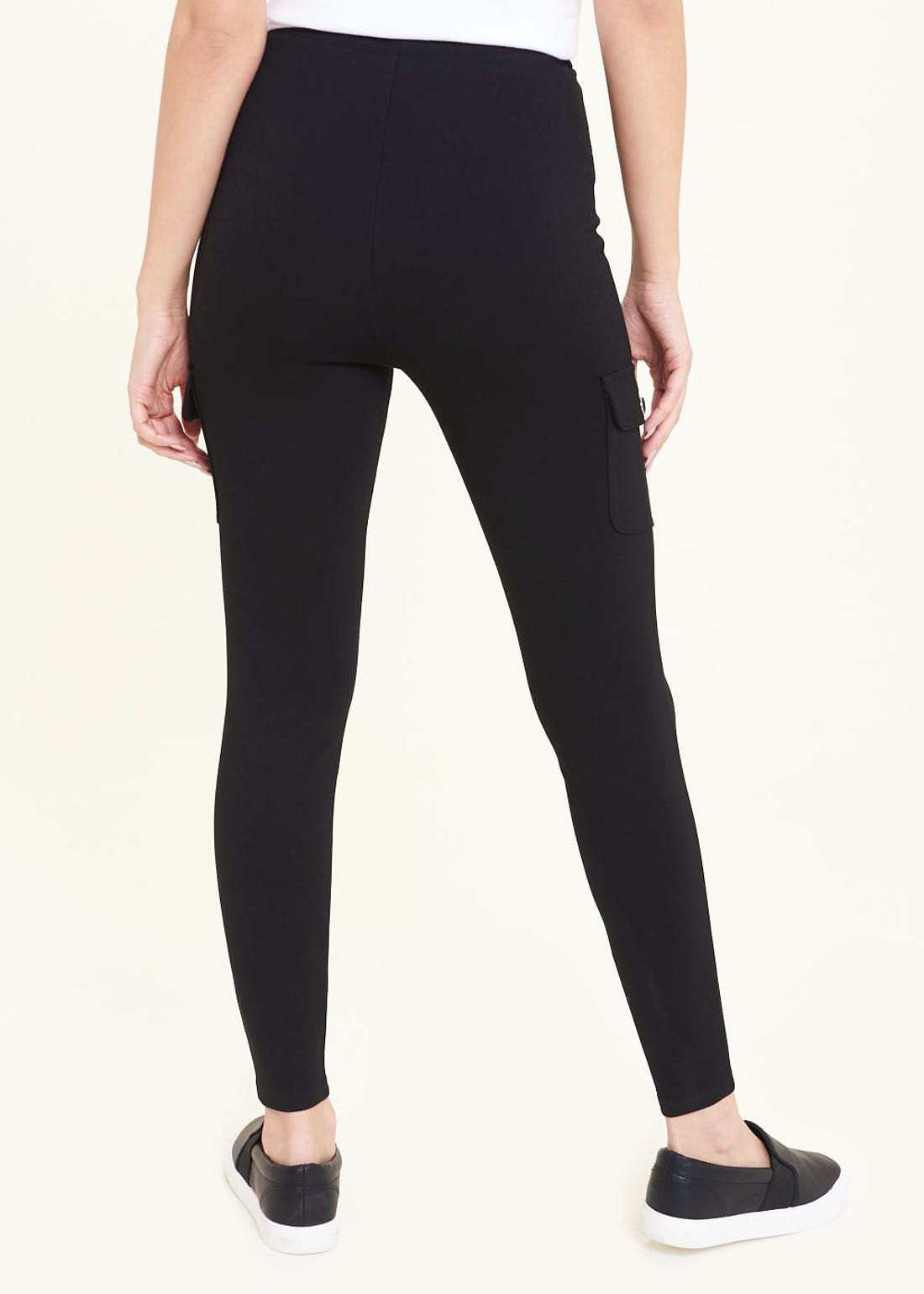 Side Pocket Body Shaper Leggings