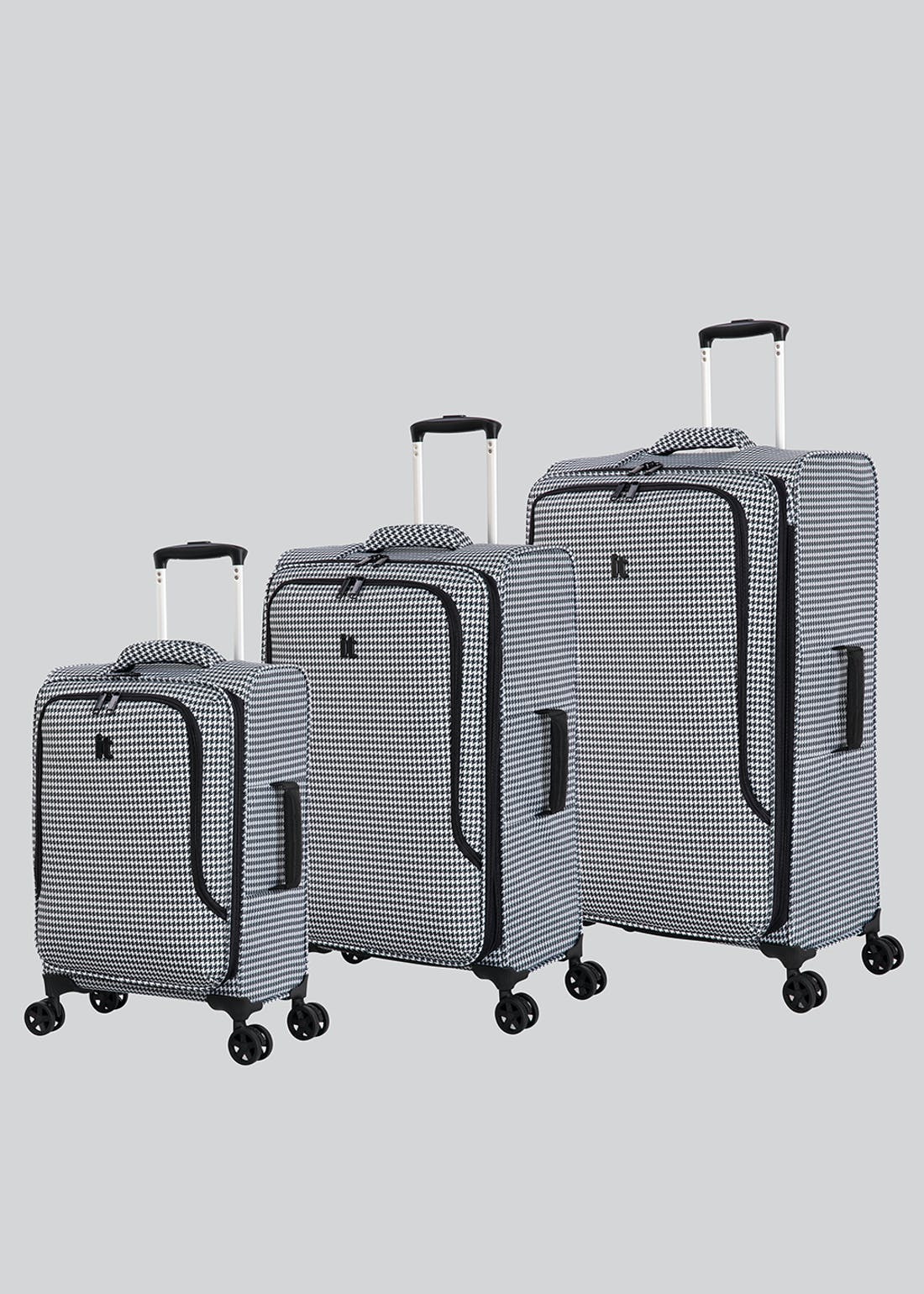 IT Luggage Houndstooth True-Lite Suitcase