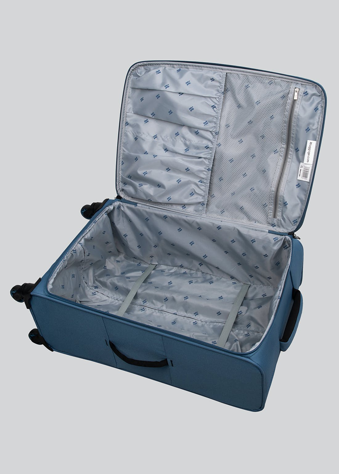 IT Luggage Chevron Soft Shell Suitcase