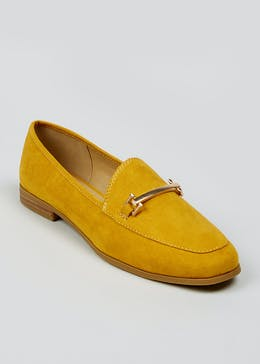 Mustard Snaffle Loafers