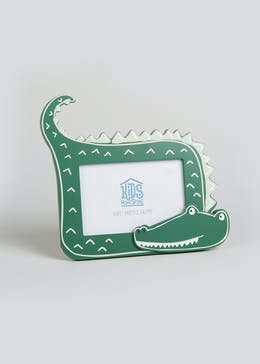Kids Crocodile Photo Frame (18cm x 13cm)