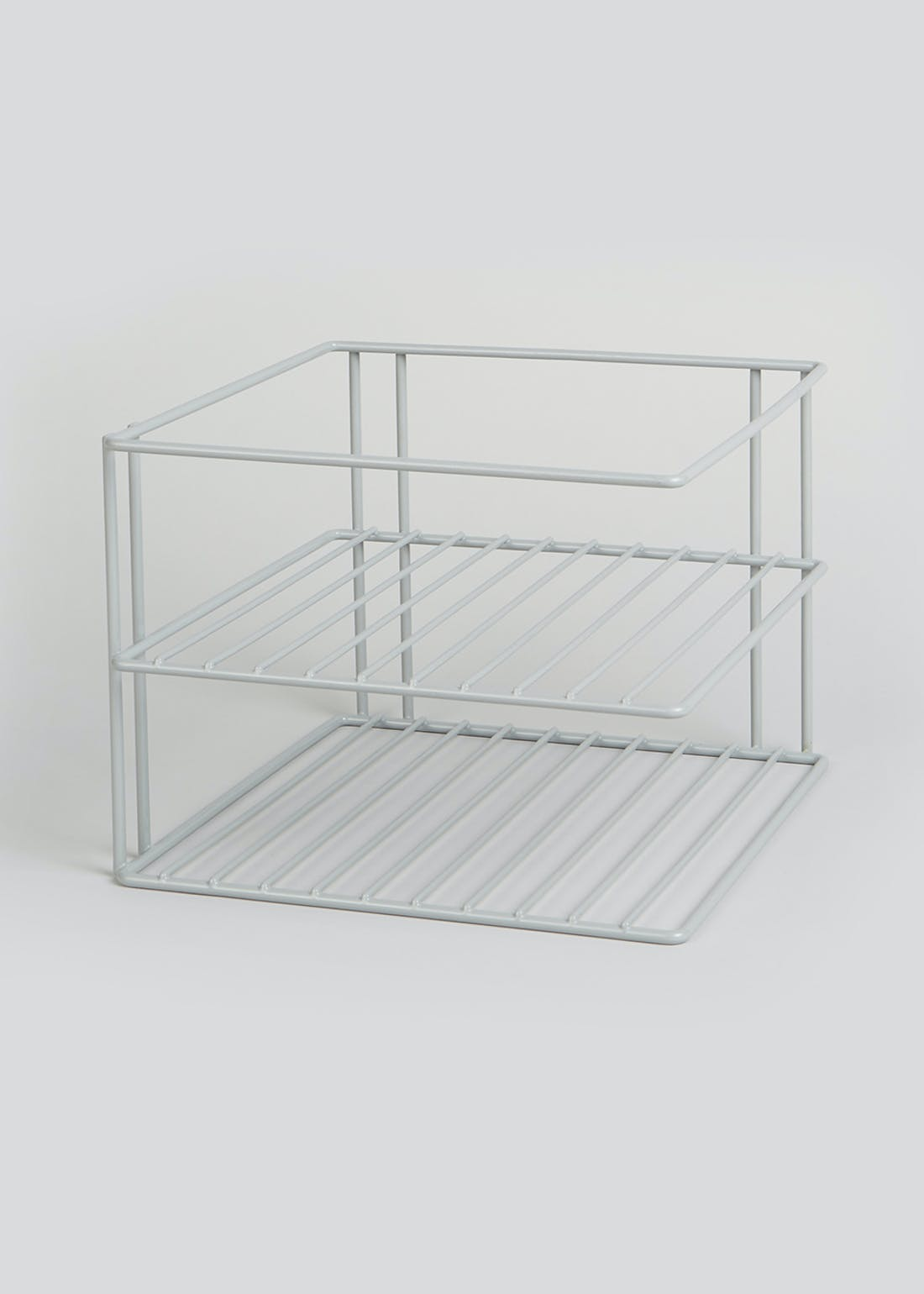 Wire Corner Plate Shelf (24cm x 18cm)