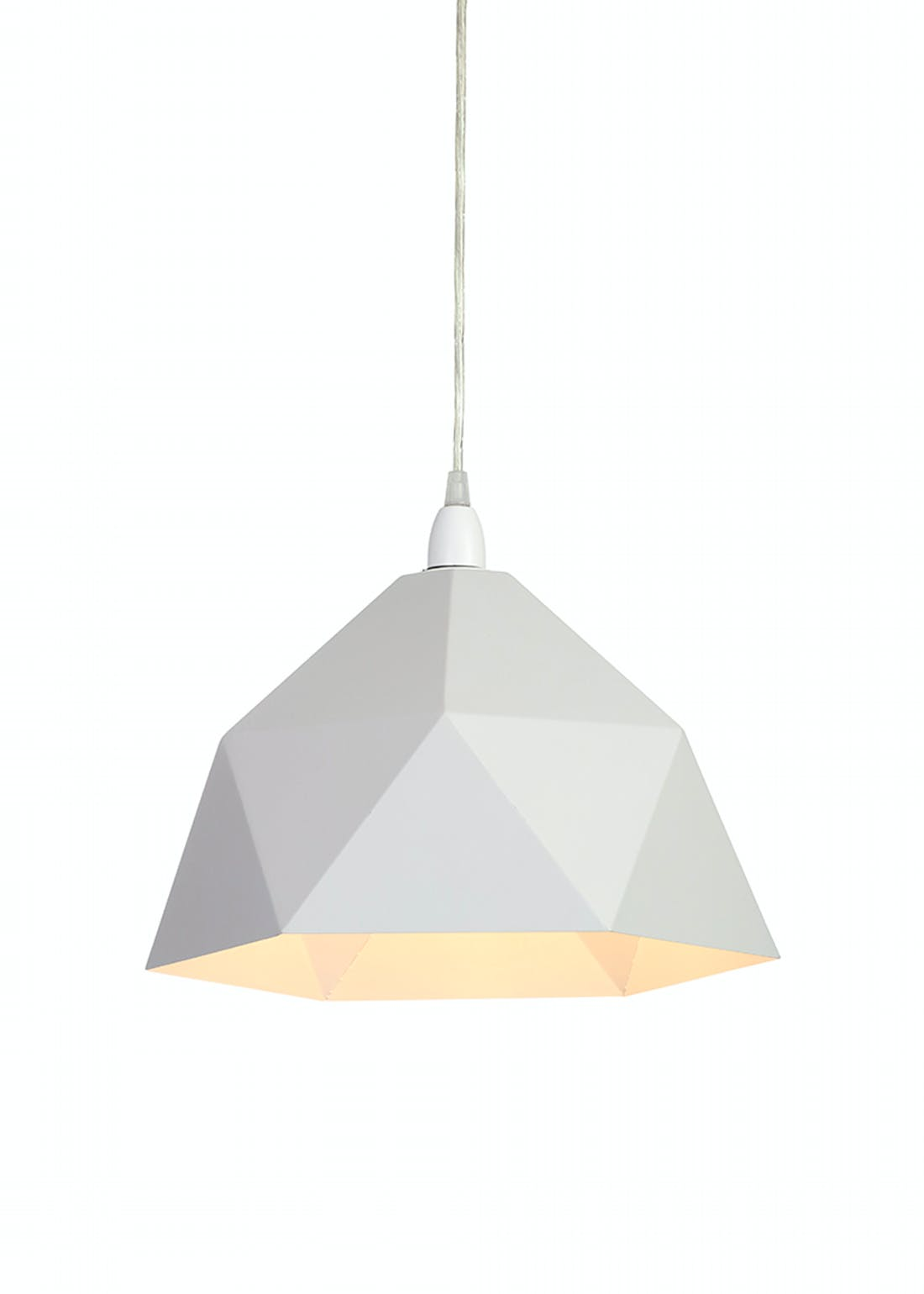 Geometric Easy Fit Dome Shade (W35cm x H23cm)