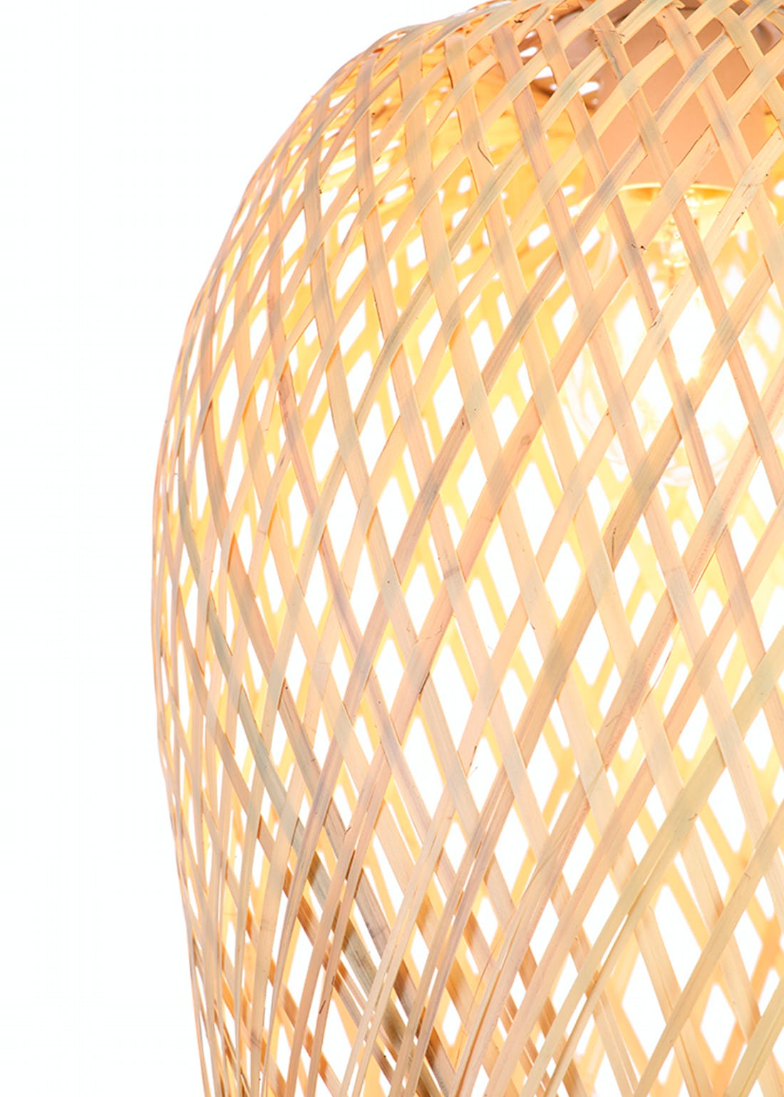 Natural Woven Easy Fit Shade (H40cm x W24cm)