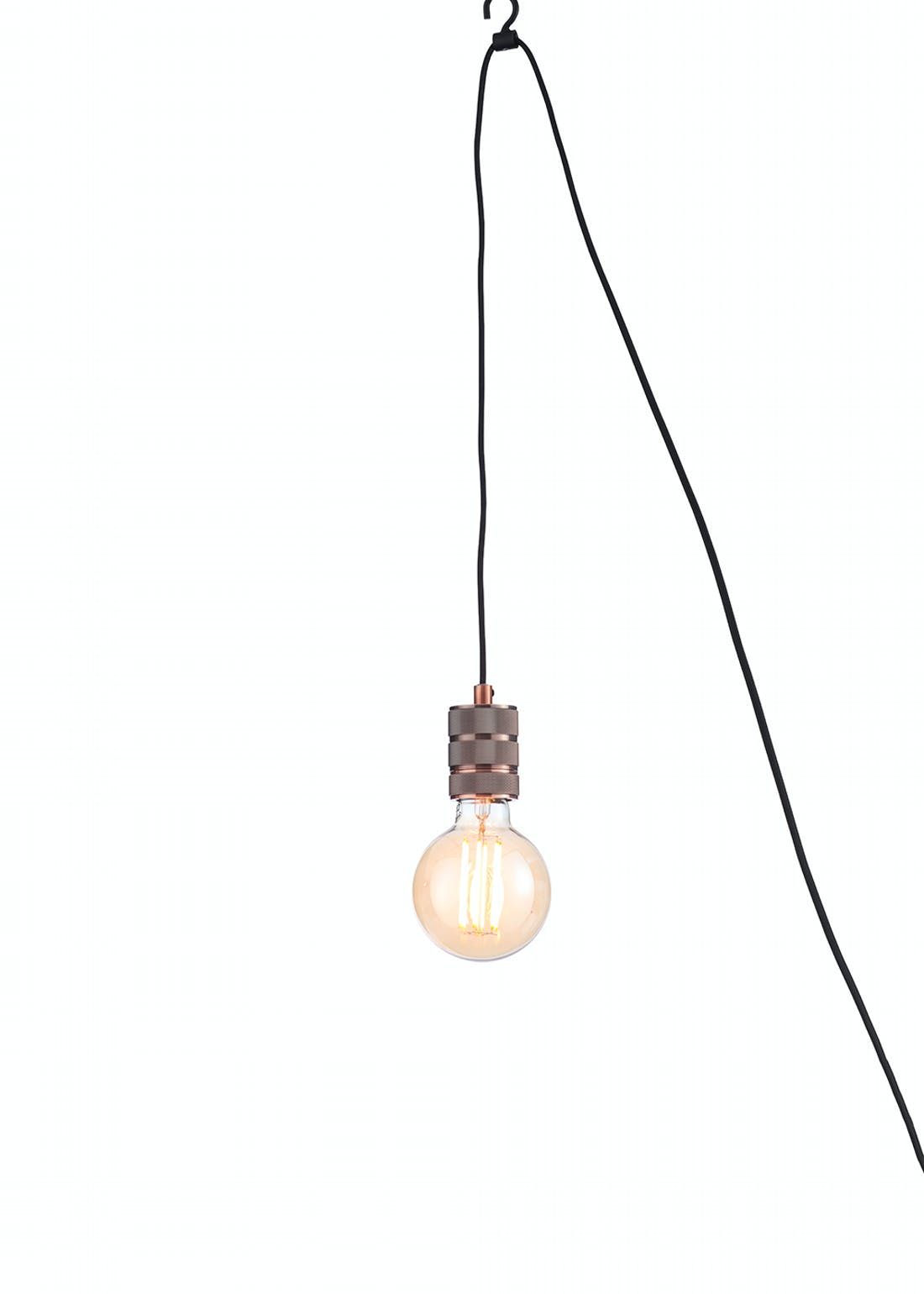 Hanging Pendant Lamp Holder (H48-100cm x W6cm)