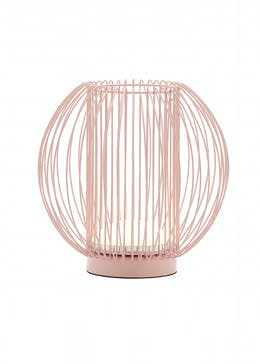 Round Wire Table Lamp (H54cm x W15cm)
