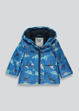 Boys Padded Dinosaur Coat (9mths-6yrs)