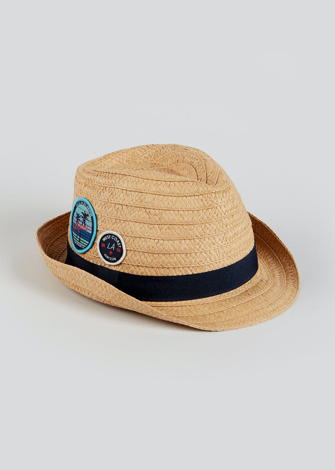 Boys Badge Trilby Hat (7-13yrs)
