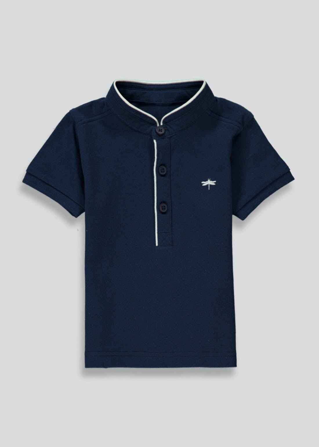 Boys Mini Me Smart Short Sleeve Polo Shirt (9mths-4yrs)