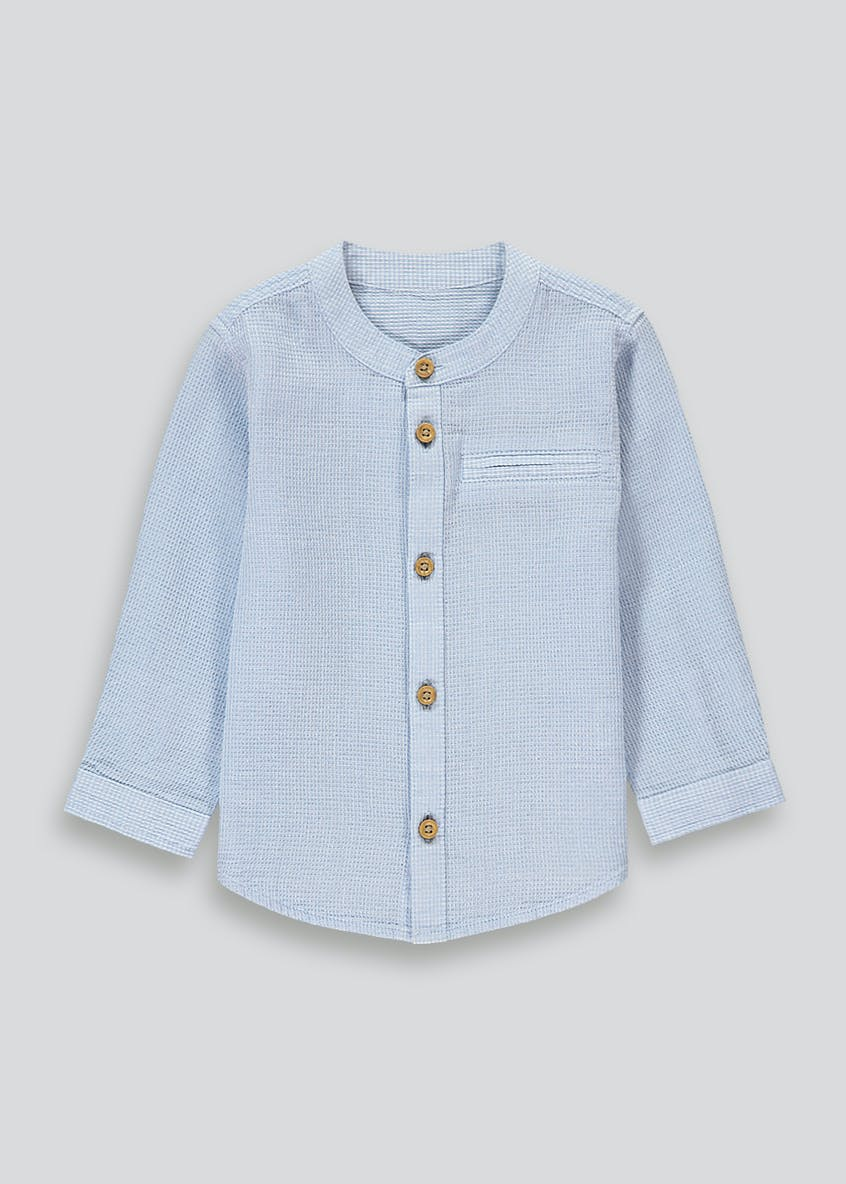 Boys Henley Collar Shirt (9mths-6yrs)