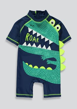 Boys Crocodile Surf Suit (3mths-5yrs)