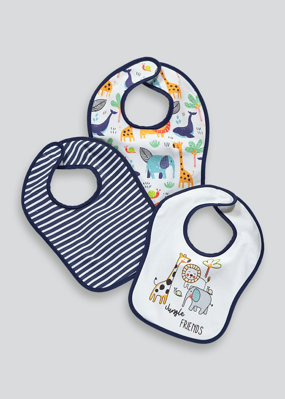 3 Pack Shoulder Bibs