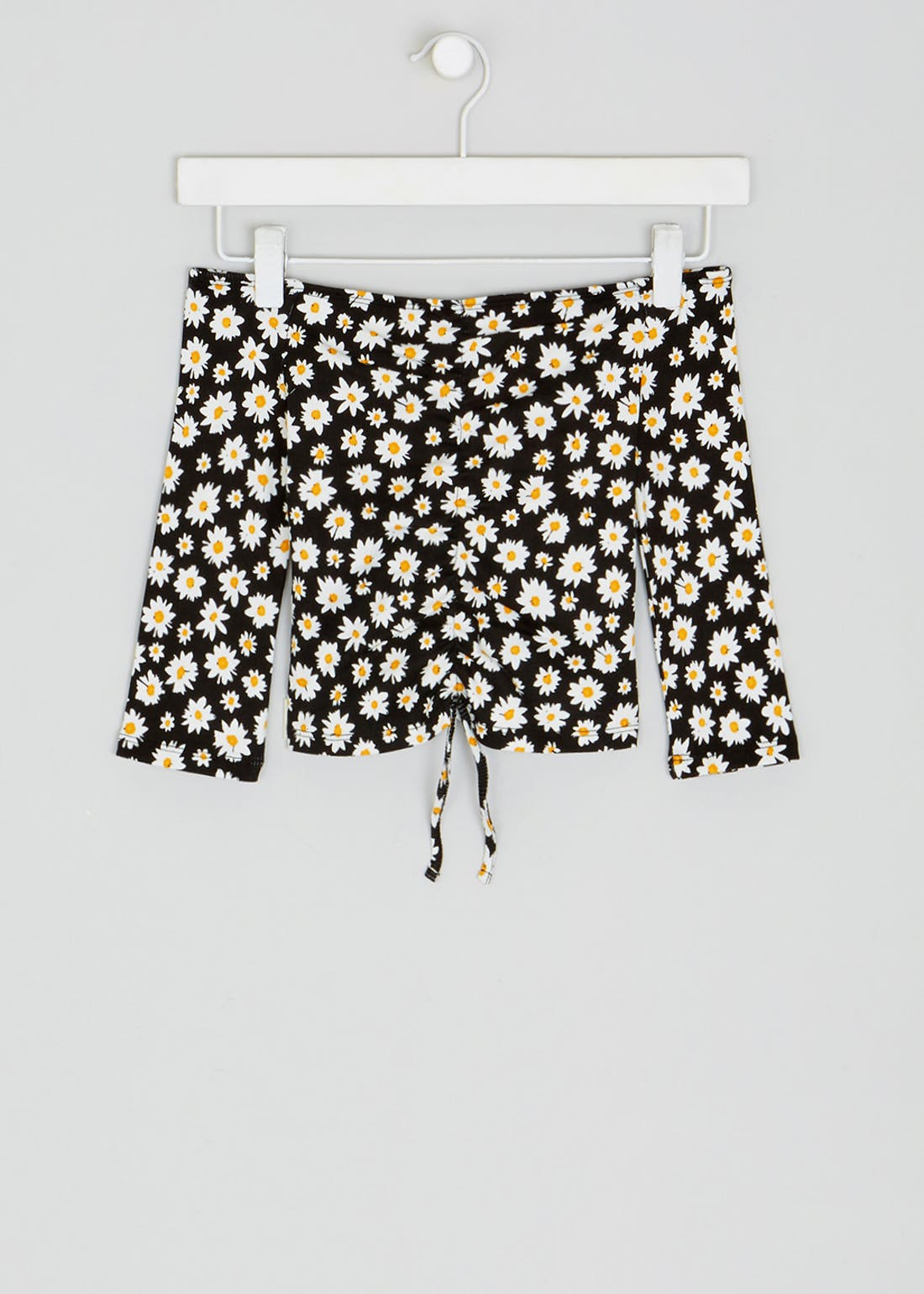 Girls Candy Couture Floral Bardot Top (9-16yrs)