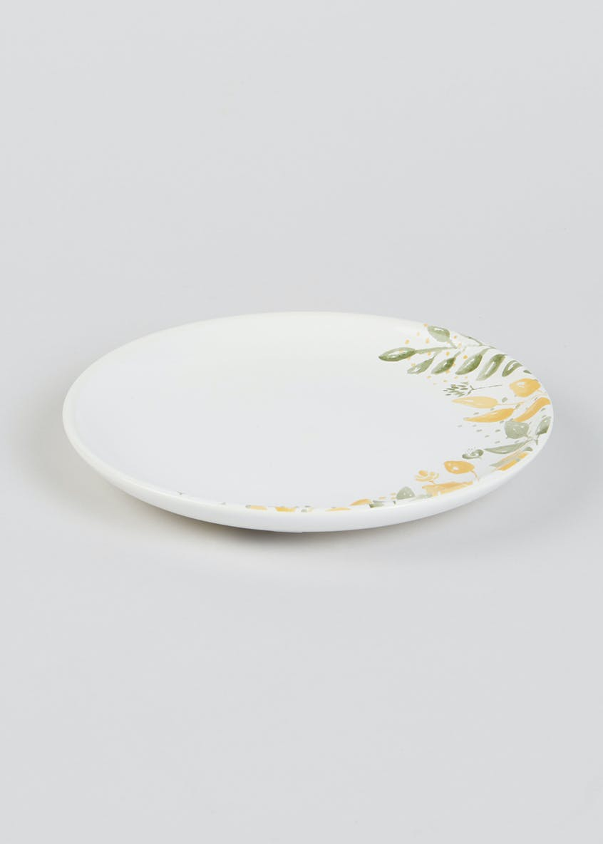 Floral Stoneware Side Plate (19.5cm)