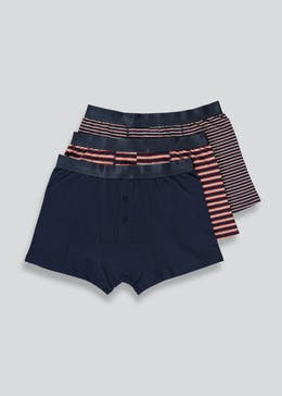 3 Pack Button Front Trunks