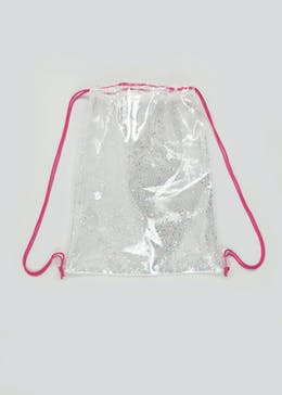 Girls Glitter Pump Bag