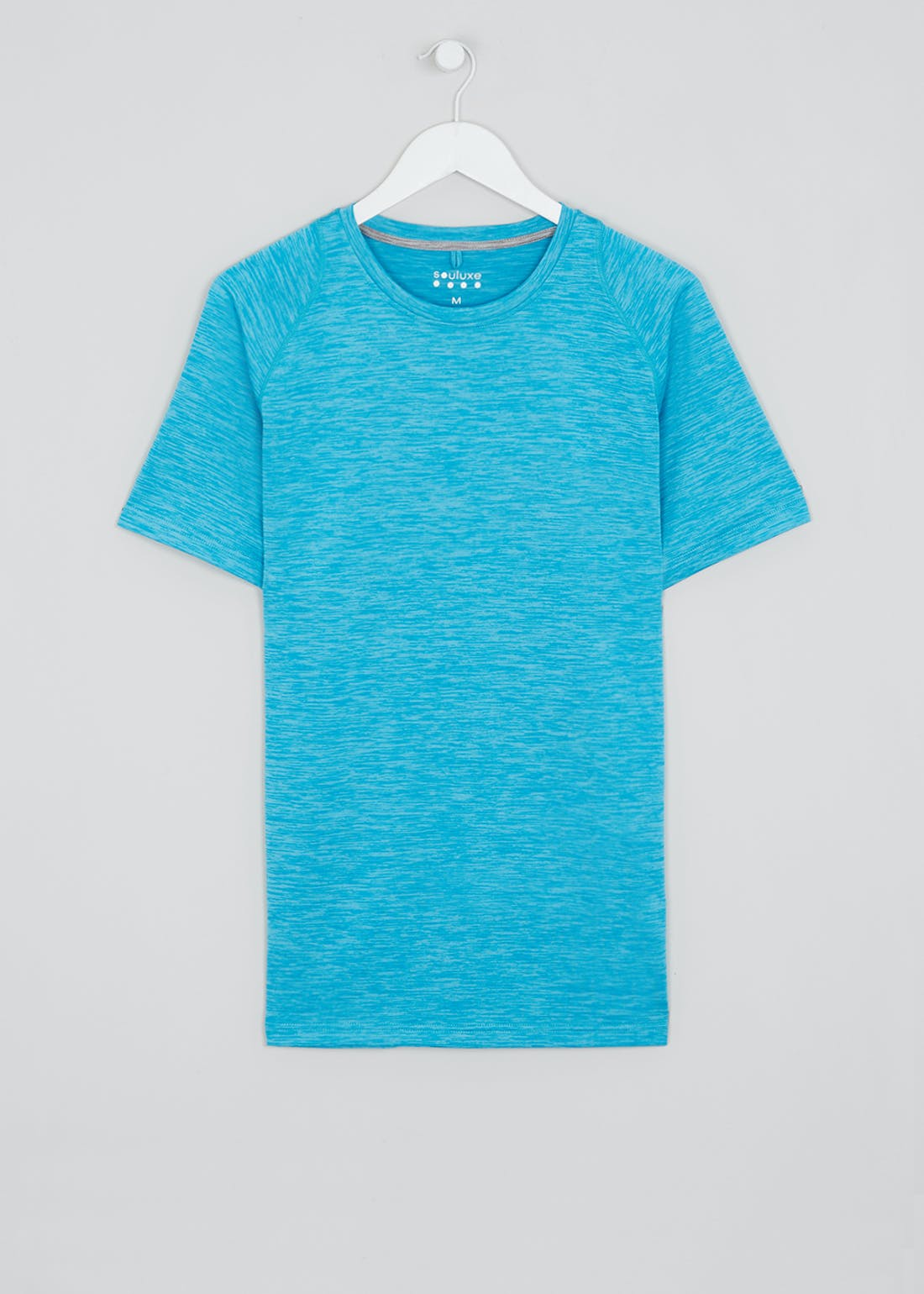 Souluxe Blue Basic Gym Top