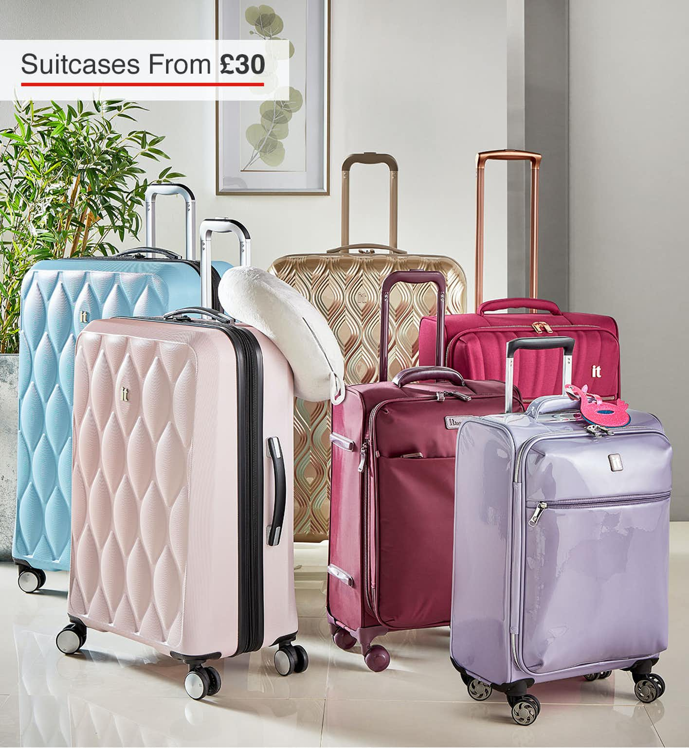 Shop Suitcases & Luggage